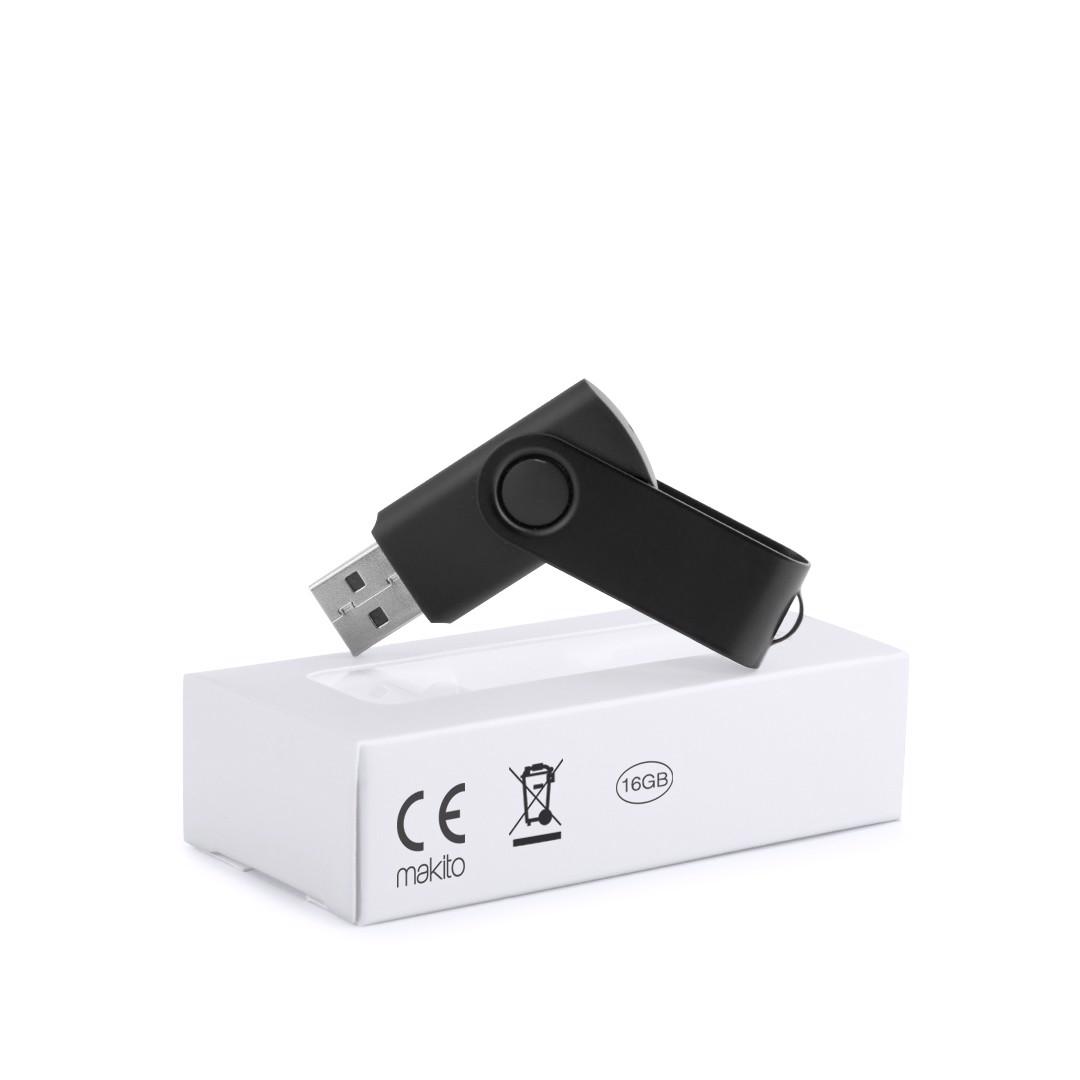 Memória USB Survet 16Gb - Preto