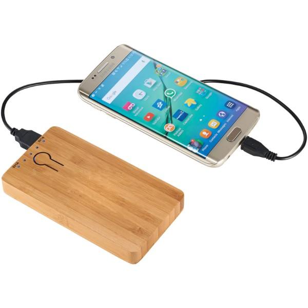 """Batería externa de bambú de 5000 mAh """"Grove"""""""