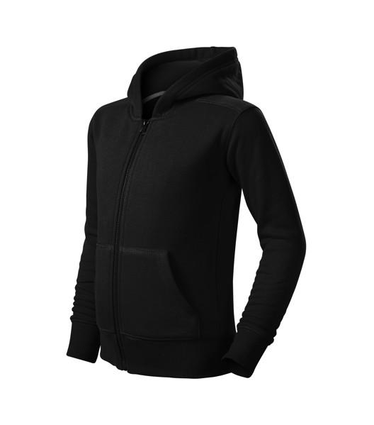 Mikina dětská Malfini Trendy Zipper - Černá / 146 cm/10 let