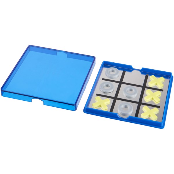 Winnit magnetic tic-tac-toe game - Blue / Transparent