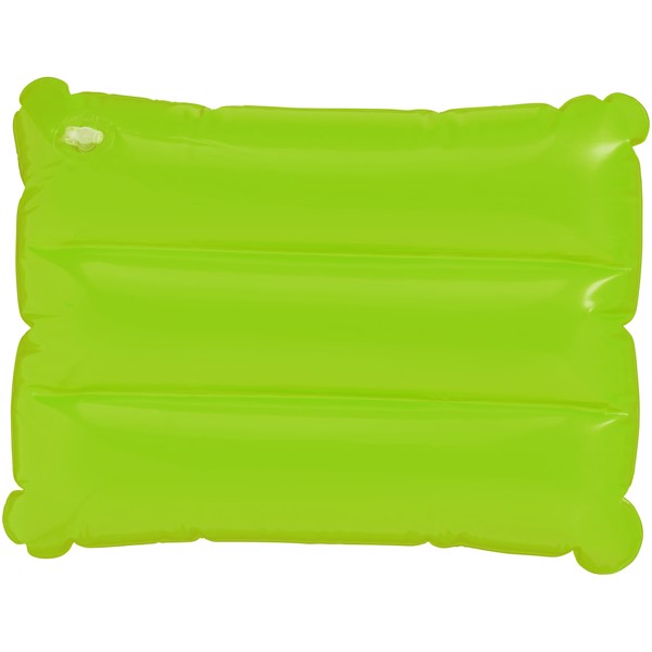 Wave inflatable pillow - Lime