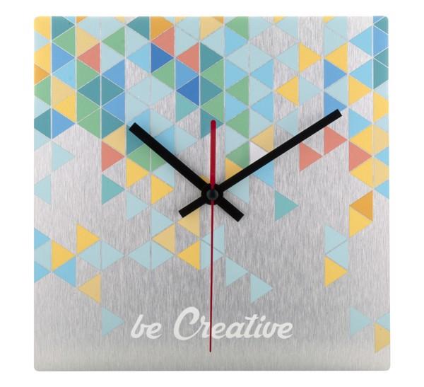 Wall Clock BeTime Alu B - Silver