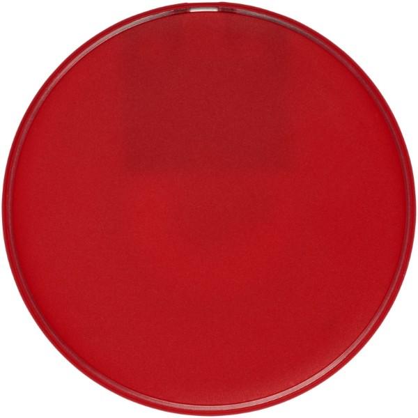 Lean bezdrátová nabíjecí podložka - Červená s efektem námrazy