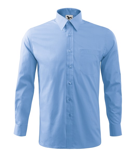 Košile pánská Malfini Style LS - Nebesky Modrá / 3XL