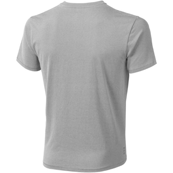 Pánské triko Nanaimo s krátkým rukávem - Šedá melanže / 3XL