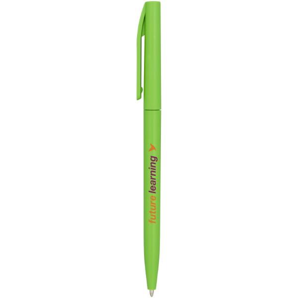 Pevné kuličkové pero Mondriane - Zelená