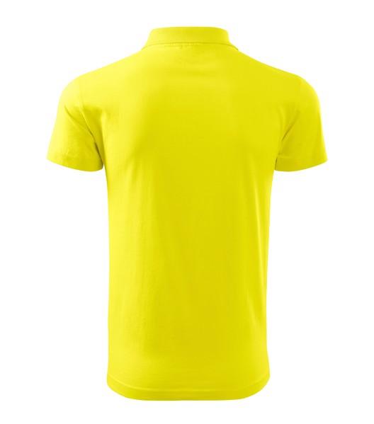 Polo Shirt men's Malfini Pique Polo - Lemon / S