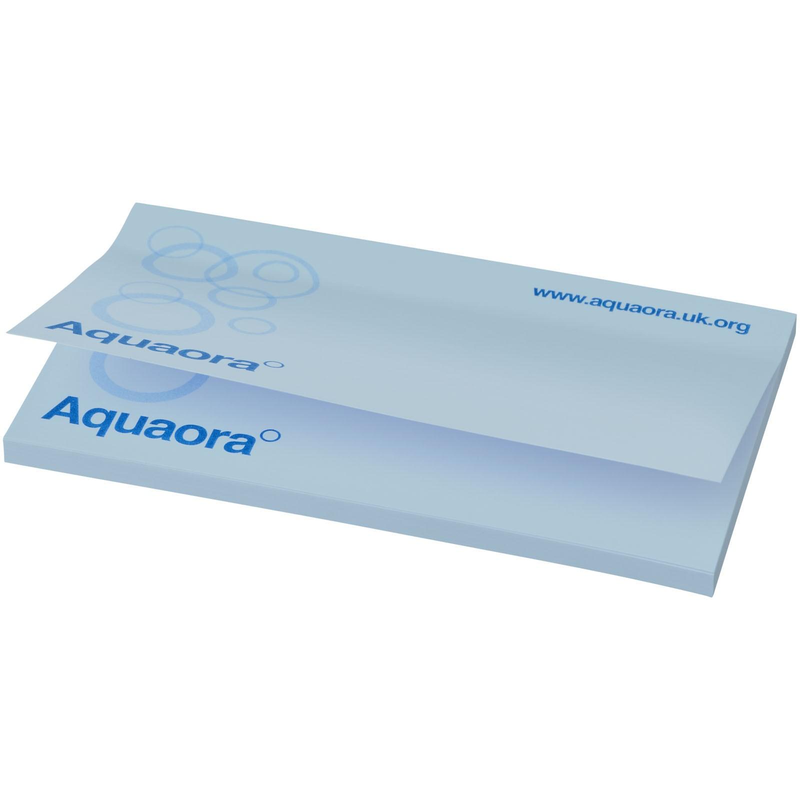 Samolepicí lístečky Sticky-Mate® 127x75mm - Světle modrá / 50 pages