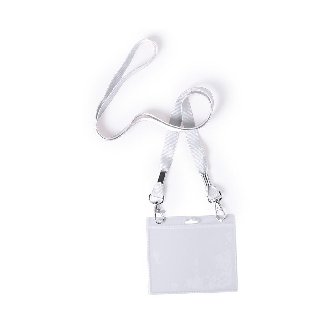 Badge Lanyard Cail - White