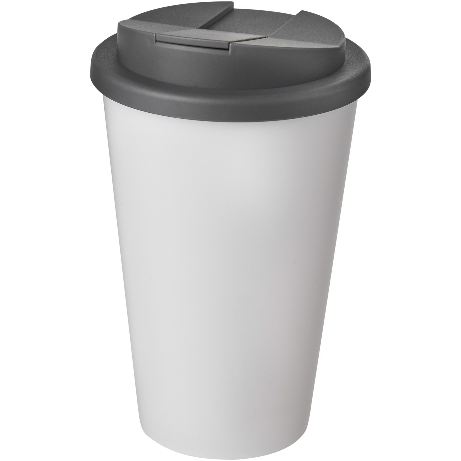 Americano® 350 ml tumbler with spill-proof lid - White / Grey