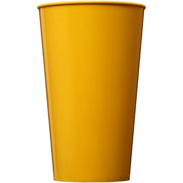 Plastový kelímek Arena 375 ml - Žlutá