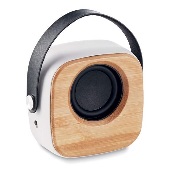 3W hangszóró bambusz fronttal Ohio Sound