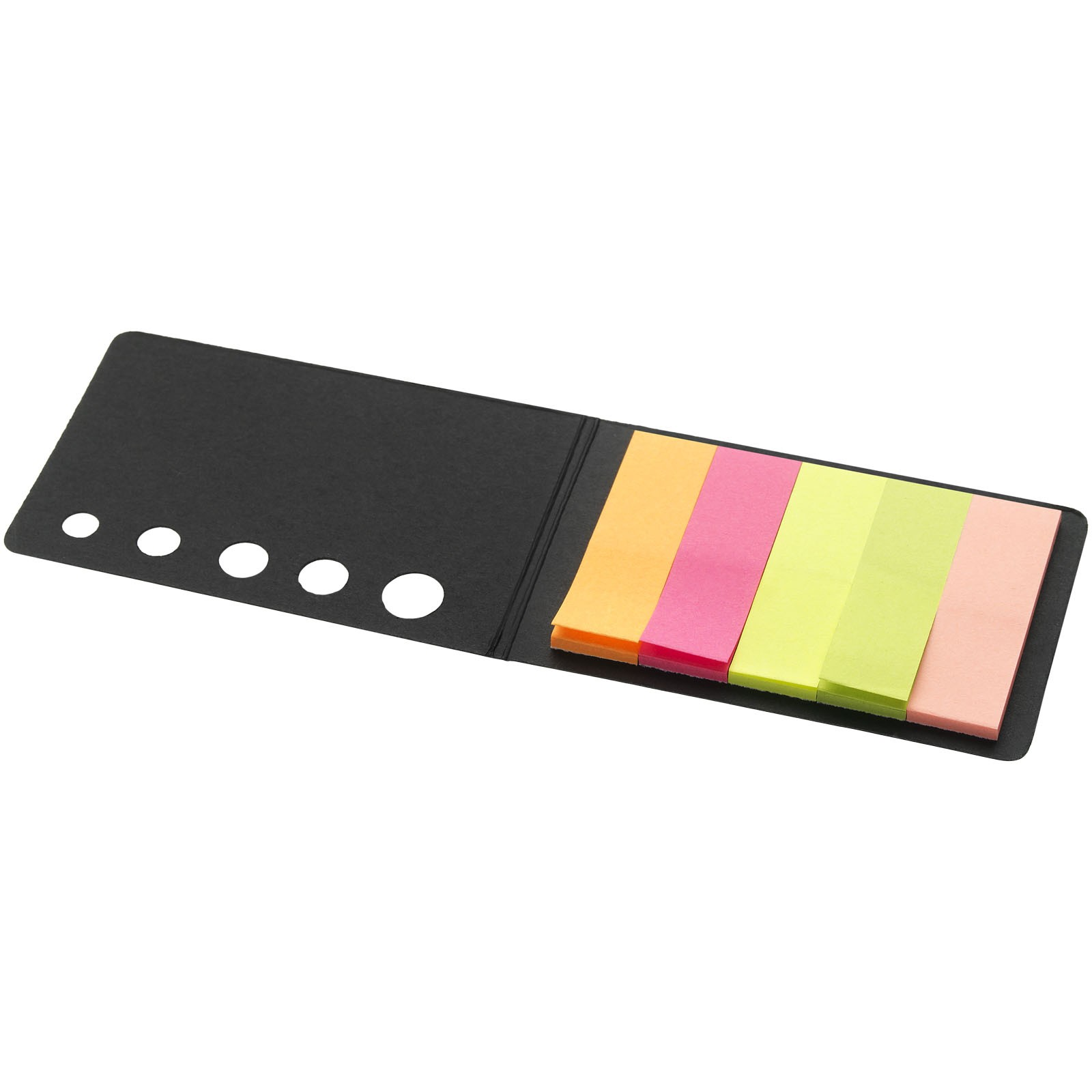 Fergason coloured sticky notes set - Solid black