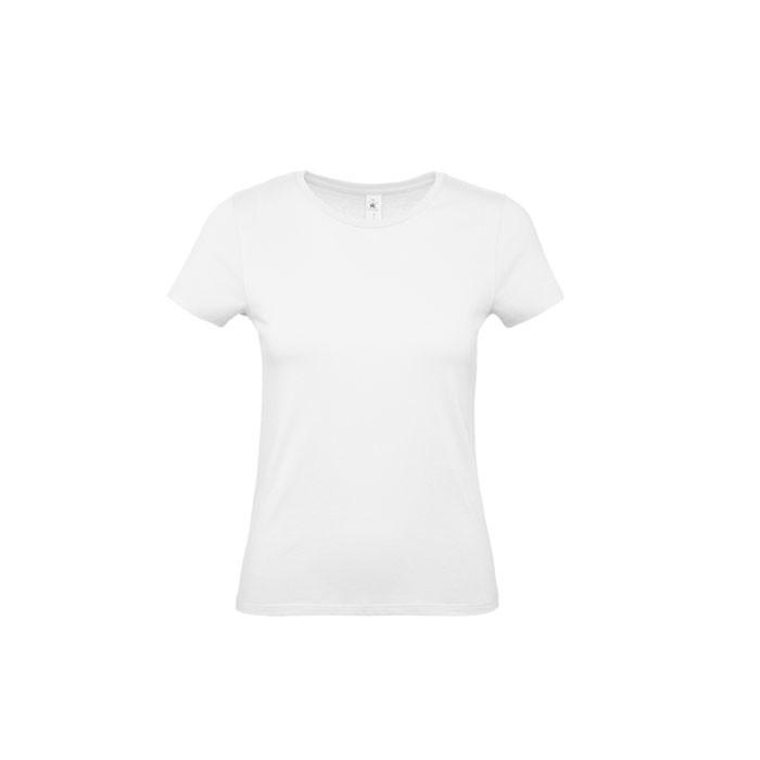 T-shirt female 185 g/m² #E190 /Women T-Shirt - Ash / XXL