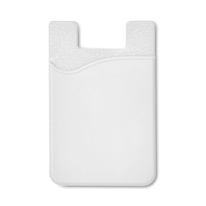 Kreditkartenhalter Silicard - weiß