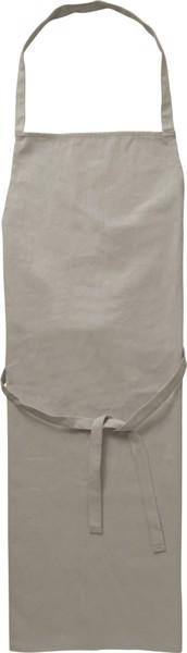 Cotton (180 gr/m²) apron - Grey