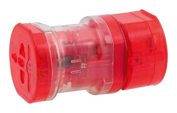 Cestovní Adaptér Jetlag - Červená