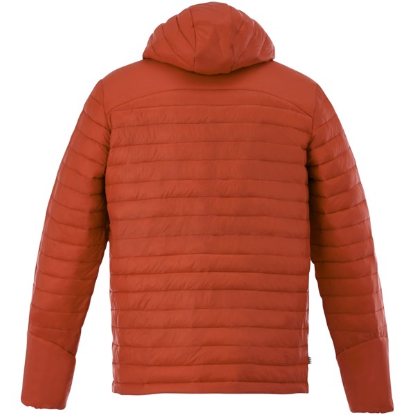 Silverton men's insulated packable jacket - Orange / XL