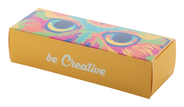 Krabička Na Sluneční Brýle Na Zakázku Creabox Sunglasses A - Bílá