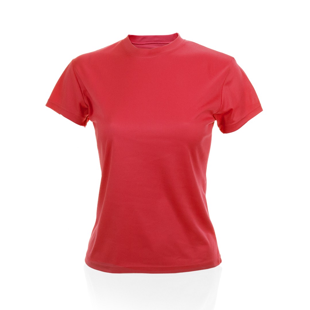 Camiseta Mujer Tecnic Plus - Rojo / XL