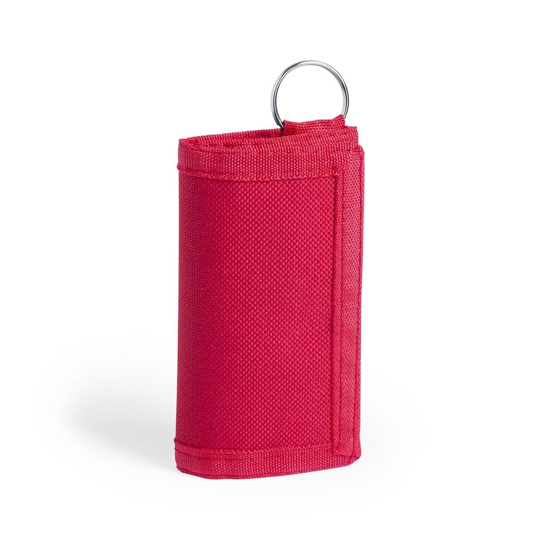 Llavero Monedero Motok - Rojo
