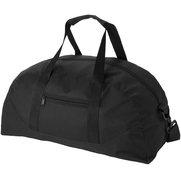 Stadium duffel bag - Solid black