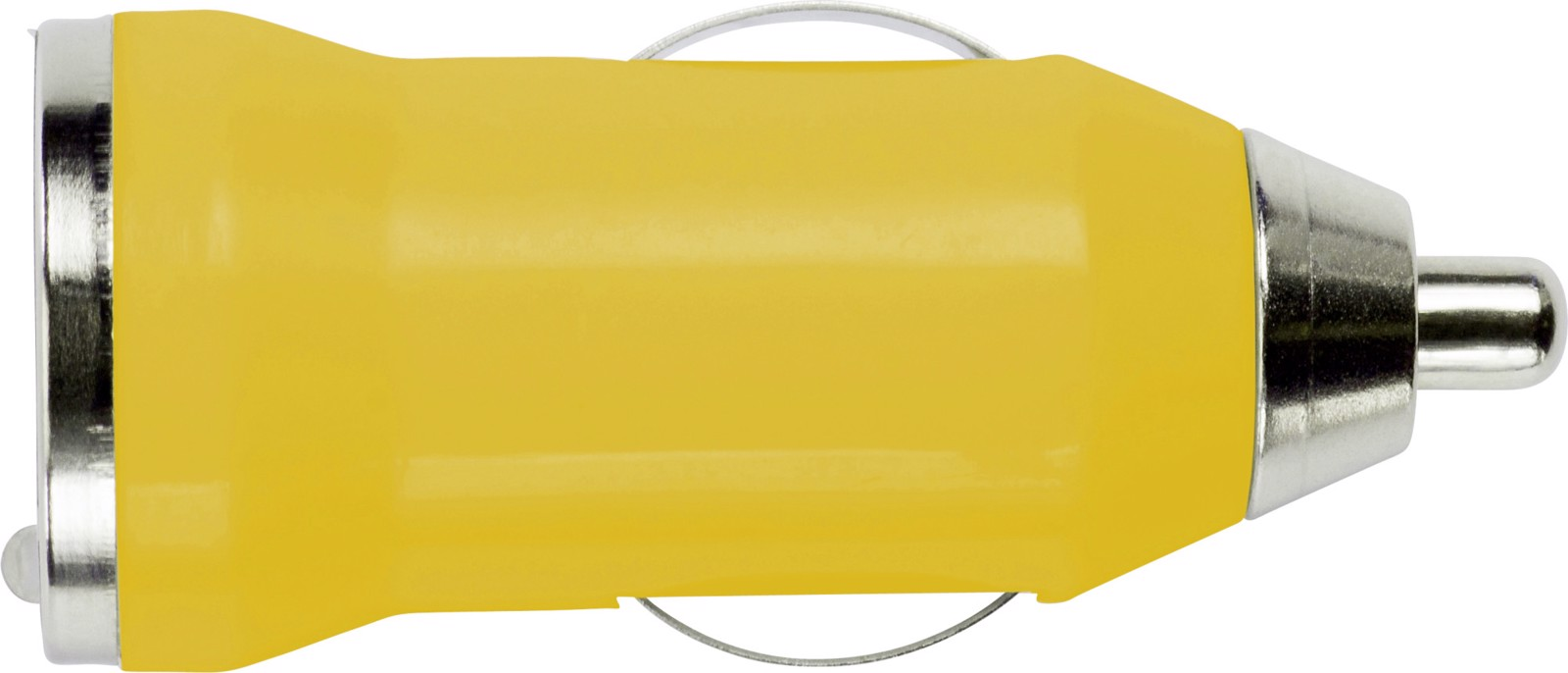 ABS car power adapter - Yellow