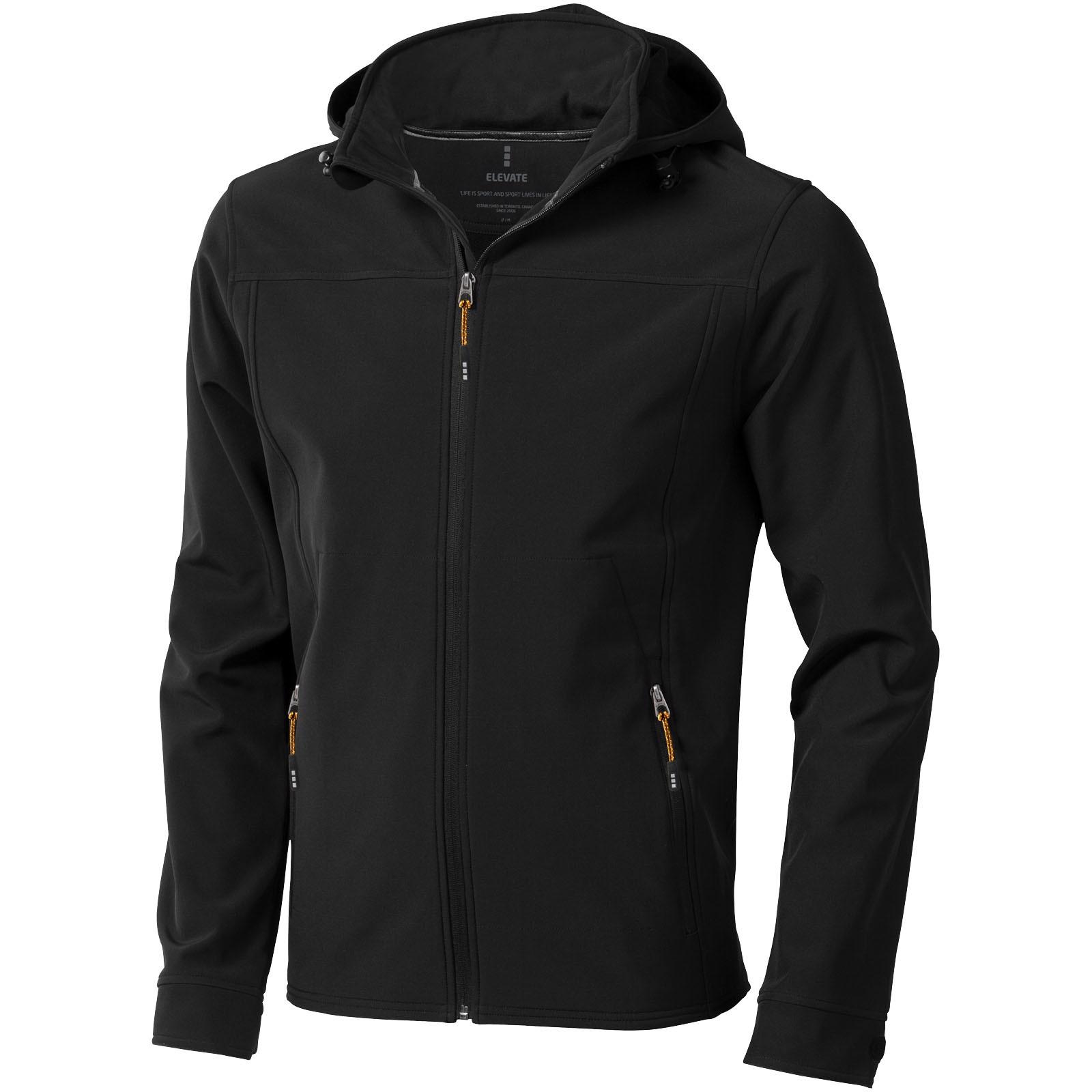 Softshellová bunda Langley - Černá / XS