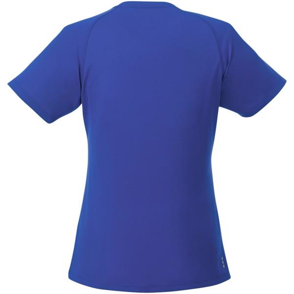 Amery dámské cool fit v-neck tričko s krátkým rukávem - Modrá / XL
