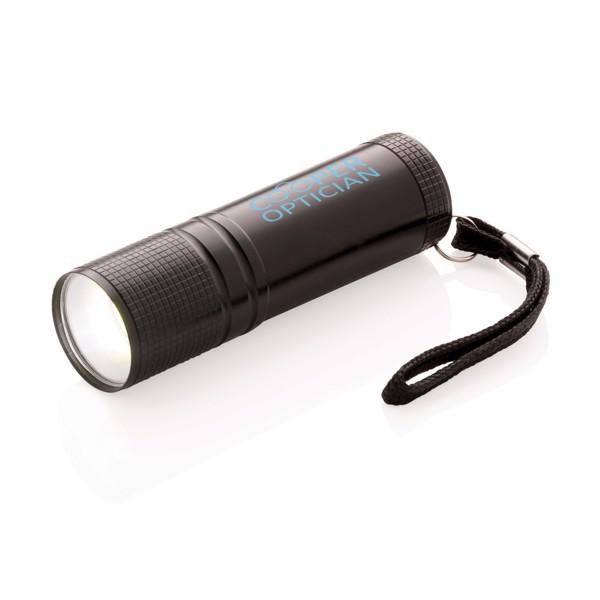 COB lámpa - Fekete