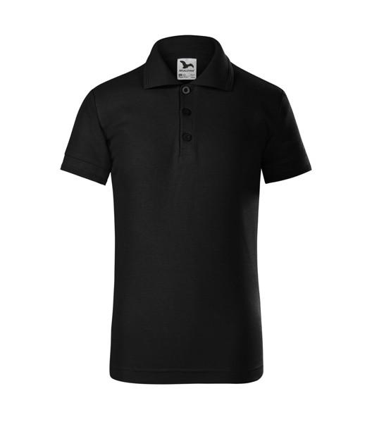 Polo Shirt Kids Malfini Pique Polo - Black / 6 years