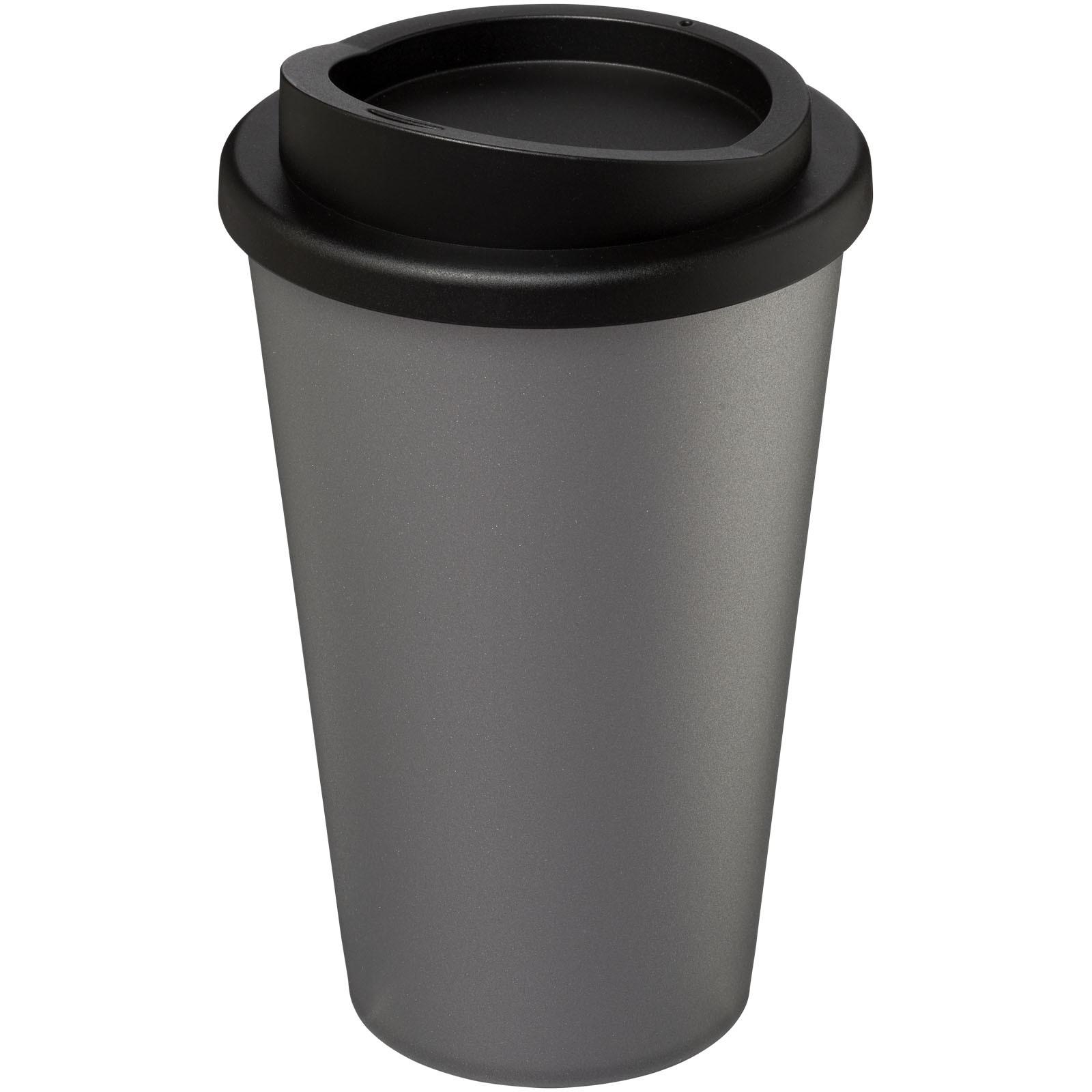 Americano® Vaso térmico de 350 ml - Plateado / Negro intenso