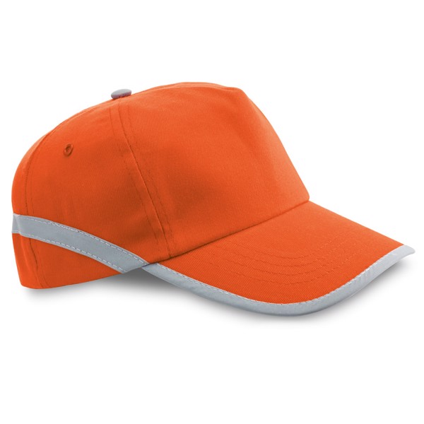 JONES. Cap with reflective details - Orange