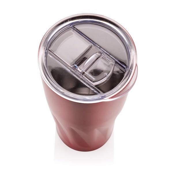 Réz- és vákuumszigetelt ivópohár - Piros