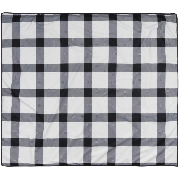 Pikniková deka Buffalo - Bílá / Černá / Šedá