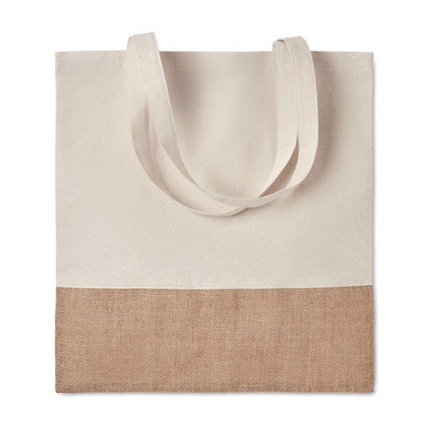 Shopping bag jute details India Tote