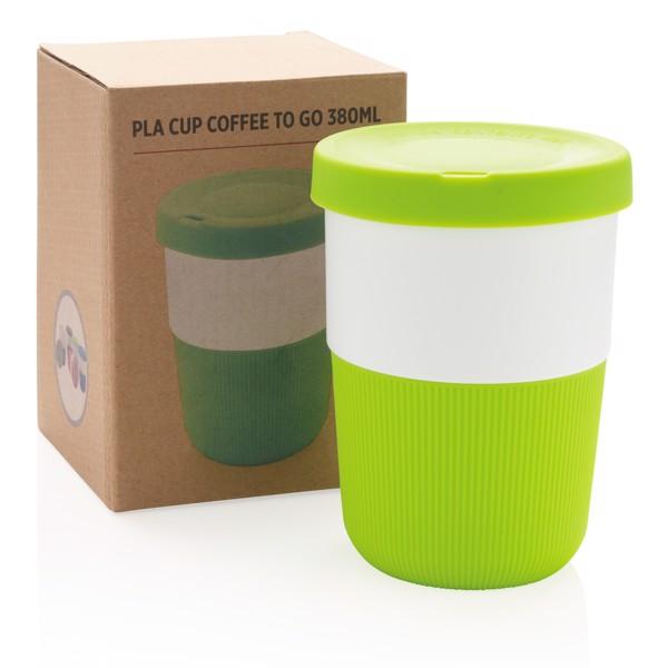 PLA kávésbögre 380 ml - Zöld