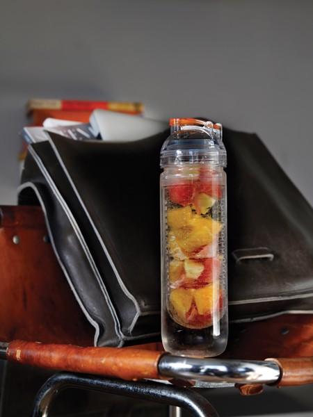 Lahev s košíkem na ovoce - Oranžová