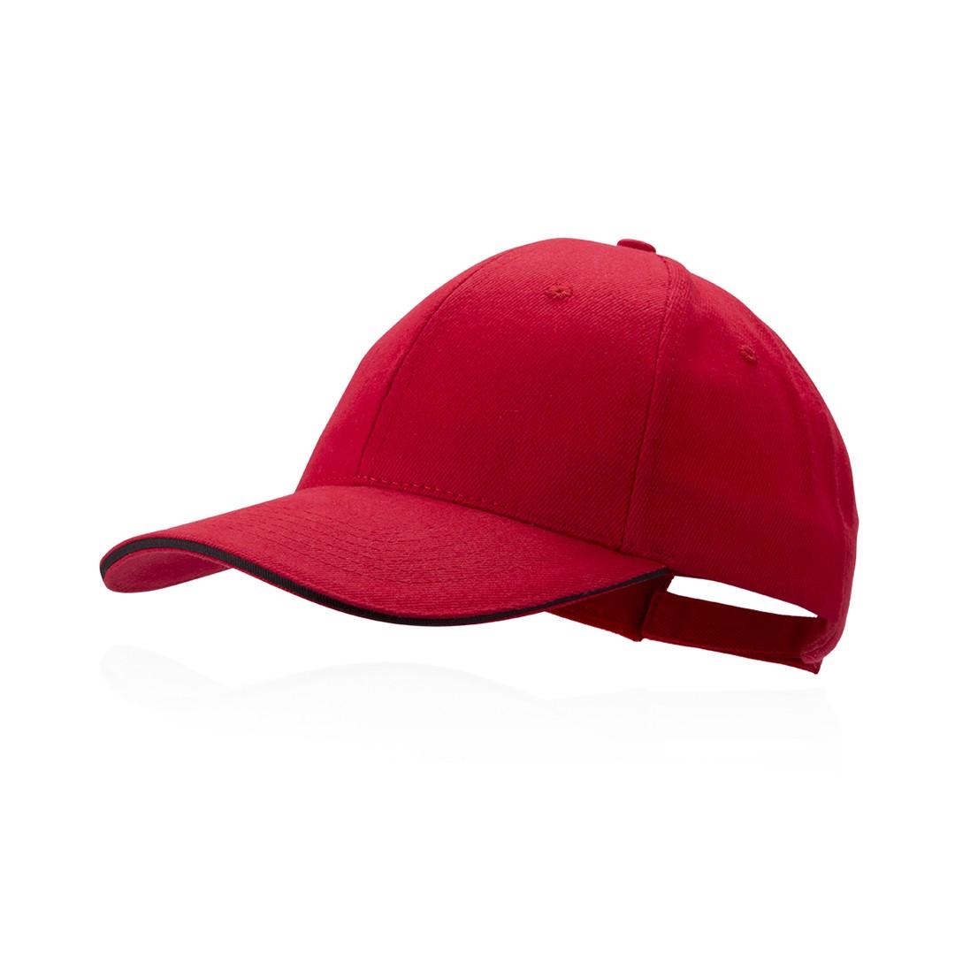 Gorra Rubec - Rojo