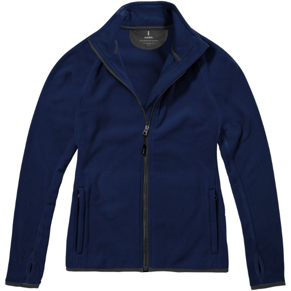 Brossard micro fleece full zip ladies jacket - Navy / XXL