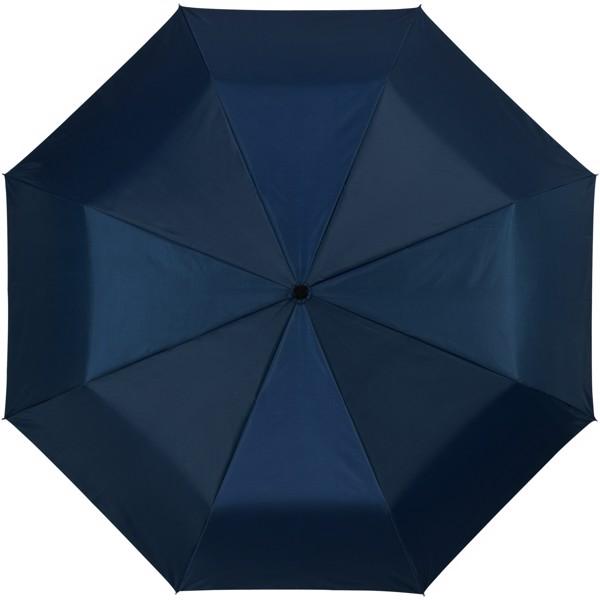 """21,5"""" deštník Alex s automatickým otvíráním/skládáním - Navy / Stříbrný"""
