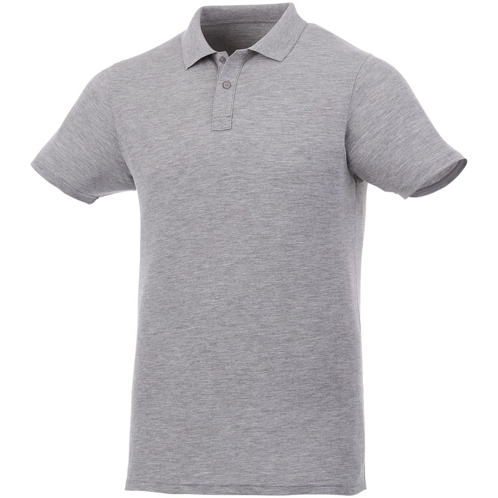 Liberty short sleeve men's polo - Heather grey / L