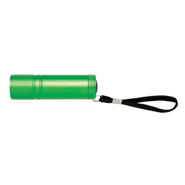 COB svítilna - Zelená