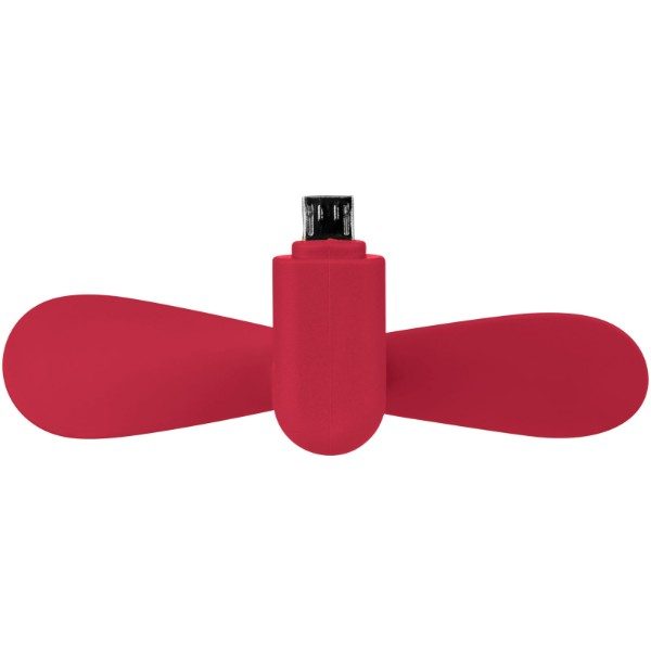 Airing micro USB fan - Red