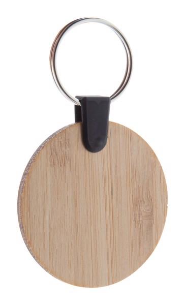 Obdélníkový Přívěšek Na Klíče Z Bambusu Bambry - Přírodní