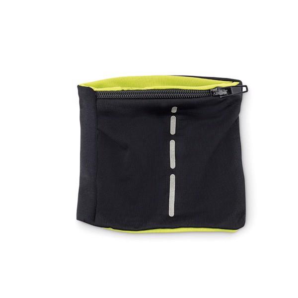 Lycra wristband Runband - Lime