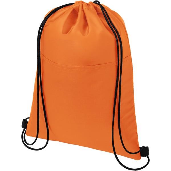 Oriole 12-can drawstring cooler bag - Orange