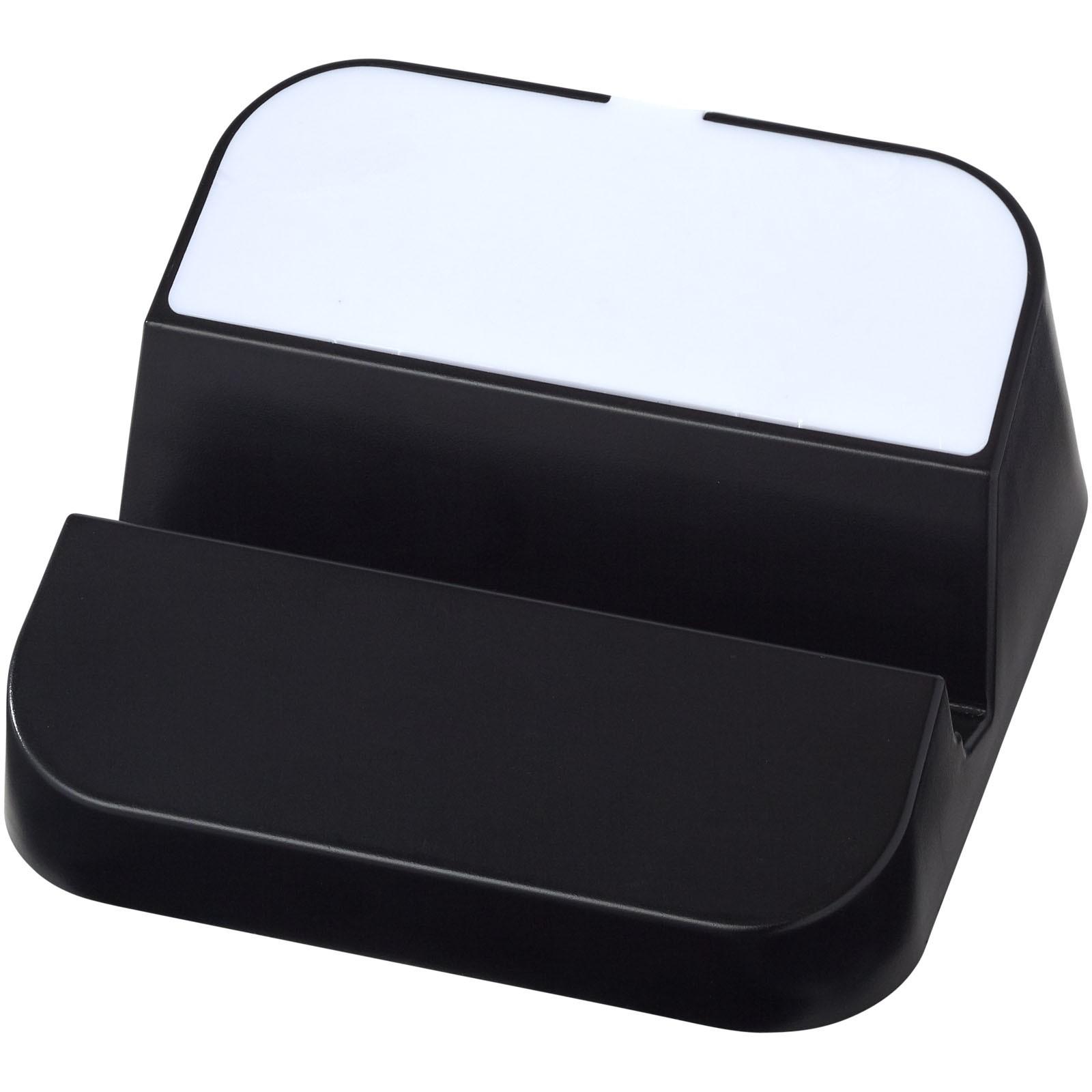 Rozbočovač Hopper 3-in-1a stojánek na telefon - Černá