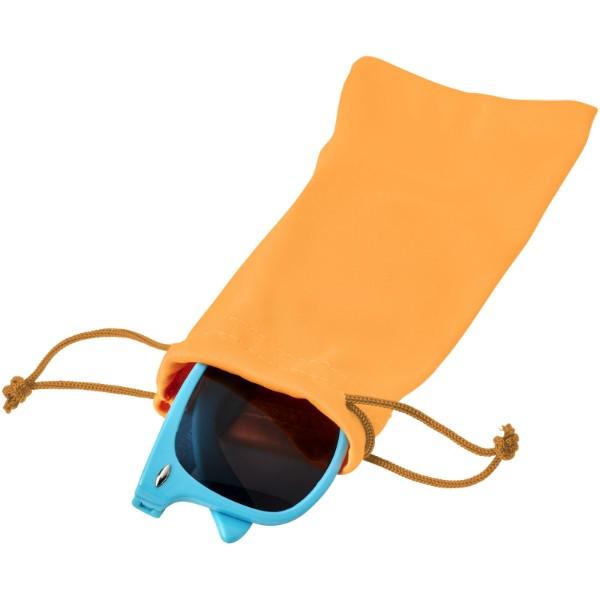 Clean sáček z mikrovláken na sluneční brýle - Neonově Oranžová