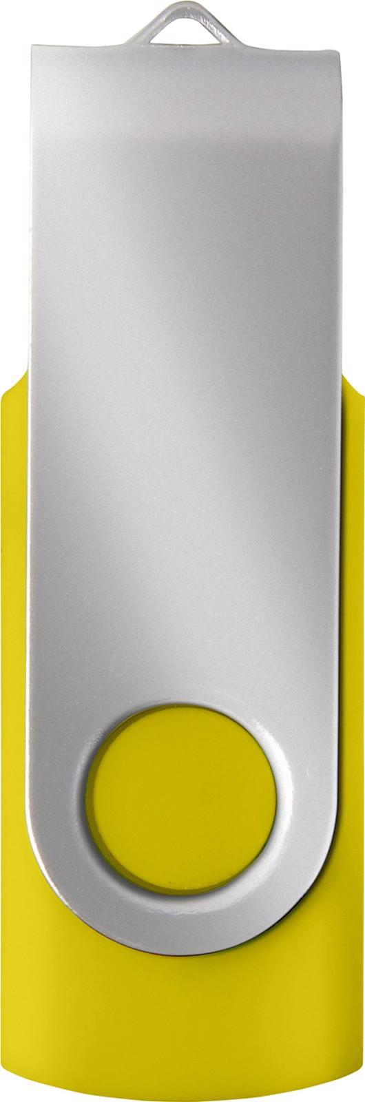 ABS USB drive (16GB/32GB) - Yellow / Silver